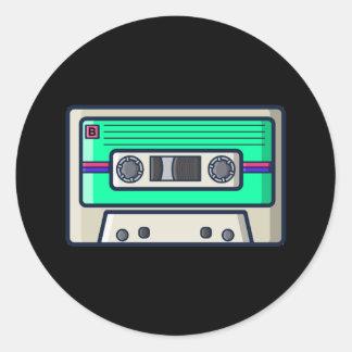 Retro - Cassette Sticker