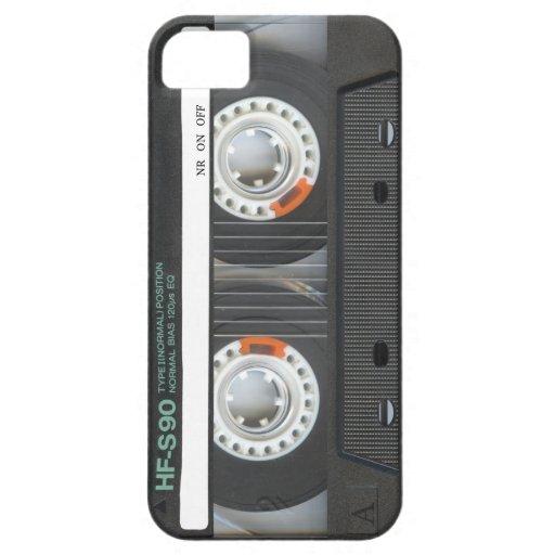 Retro Cassette Tape iPhone 5 Covers