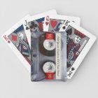 Retro Cassette Tape Custom Playing Card Deck