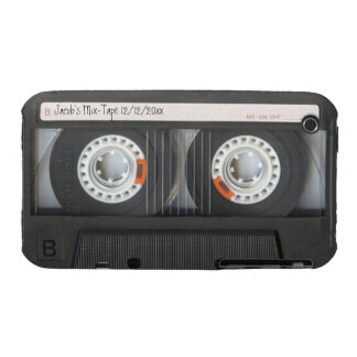 Retro Cassette Tape Mix-Tape case