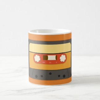 Retro cassette tape mug