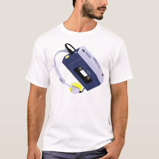 Retro Cassette Tape Player T-Shirt