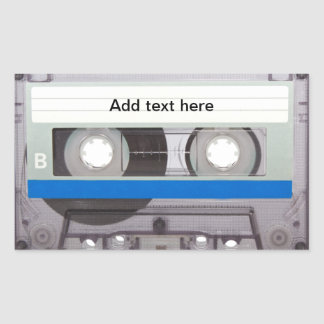 Retro Cassette Tape Stickers