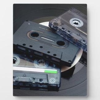 Retro Cassette Tapes Plaque