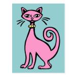 Retro Cat Post Cards