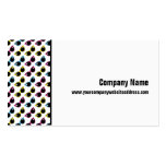 Retro Cat Sunglasses Pattern Pack Of Standard Business Cards