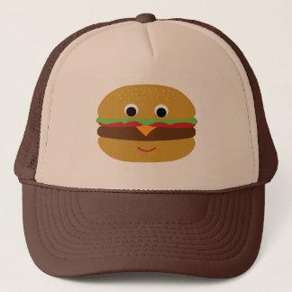 Retro Cheeseburger Trucker Hat