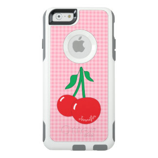Retro Cherries Gingham iPhone 6/6S Case