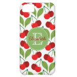 Retro Cherries Monogrammed