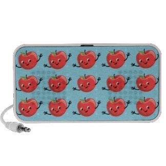 Retro Cherry Guy iPhone Speaker