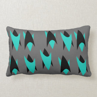 Retro Chevrons Lumbar Cushion