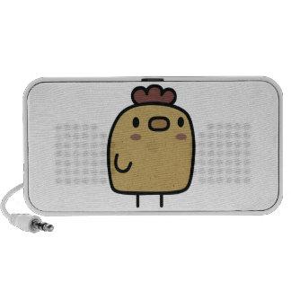 Retro Chicken Portable Speakers