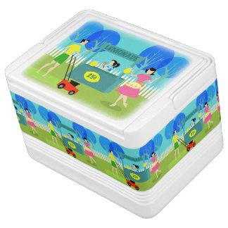 Retro Children's Lemonade Stand Igloo Can Cooler Igloo Cool Box