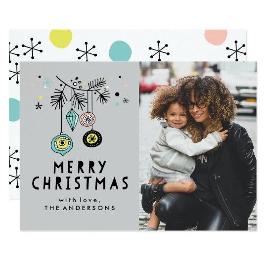 Retro Christmas | Holiday Photo Card