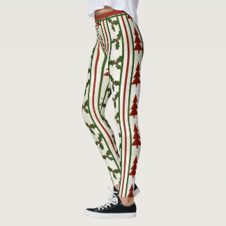 Retro Christmas Leggings