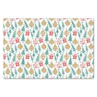 Retro Christmas Pattern Tissue Paper