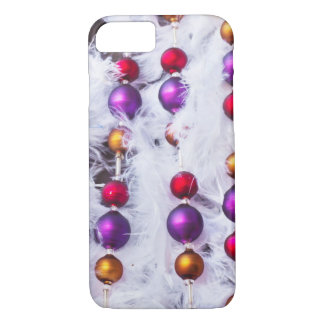 Retro Christmas Tree Decoration Background iPhone 8/7 Case