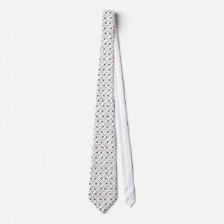 Retro Christmas Tree Snowflake Tie
