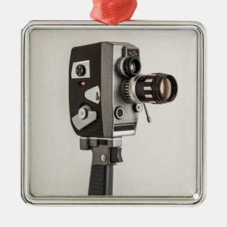 Retro Cinema camera Christmas Ornament