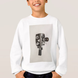 Retro Cinema Camera Sweatshirt