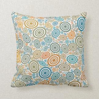 Retro Circles Cushion