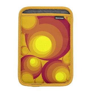 Retro Circles  iPad Mini Sleeve