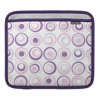 Retro Circles Sleeve For iPads