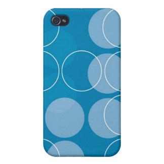Retro circles iPhone 4/4S case