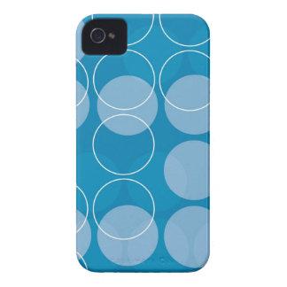 Retro circles iPhone 4 Case-Mate case