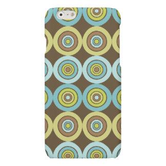 Retro circles iPhone 6 plus case