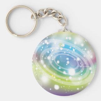 Retro Circles Keychains