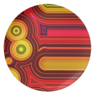 Retro Circles Plate