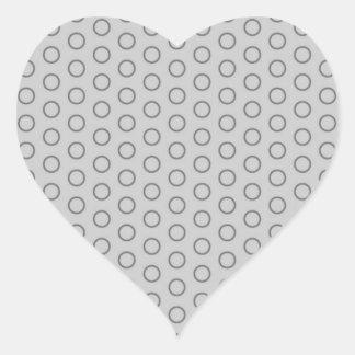 retro circles scores polka dots dab 70 scored sticker