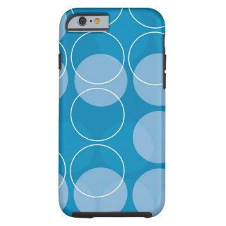 Retro circles tough iPhone 6 case