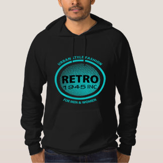 Retro Clothing Company Faux Logo Cool Graphic Hoodie