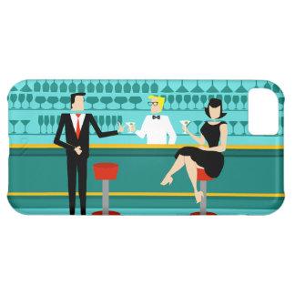 Retro Cocktail Lounge iPhone 5C Case