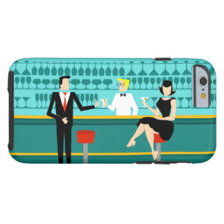 Retro Cocktail Lounge iPhone 6 Case