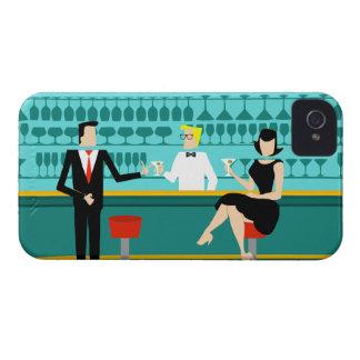 Retro Cocktail Lounge iPhone Case Case-Mate iPhone 4 Cases