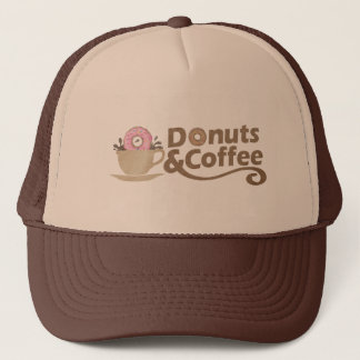 Retro Coffee & Donuts Trucker Hat