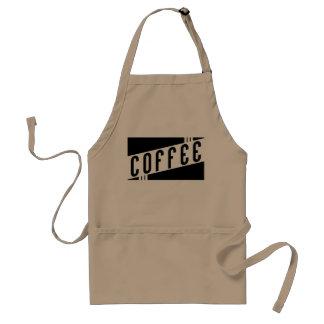 retro coffee standard apron