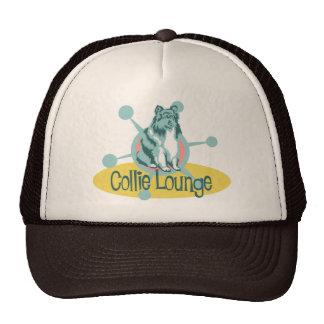 Retro Collie Lounge Hat