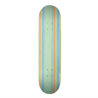 Retro Color Stripes Skate Board Decks