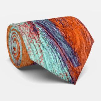 Retro Color Wood Grain #2 Tie