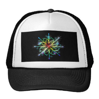 Retro Colored Star Cap