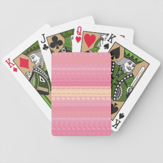 Retro Colorful Animals Modern Stripes Pattern #13 Bicycle Playing Cards