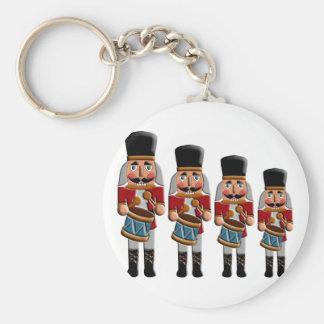 Retro Colorful Christmas Nutcracker Key Chains