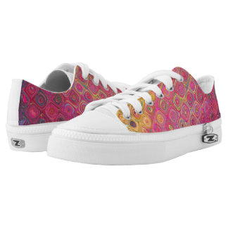 Retro Colorfull Artistic Pattern Sneakers
