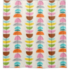 Retro Colourful Nests Shower Curtain