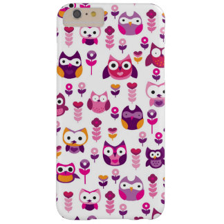retro colourful owl bird pattern barely there iPhone 6 plus case