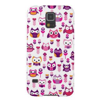 retro colourful owl bird pattern cases for galaxy s5